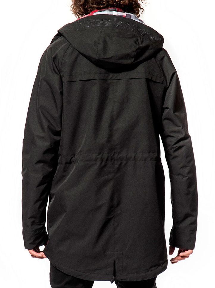 Horsefeathers COLLISION black pánska jarná bunda   Swis-Shop.sk 951e1ca996e