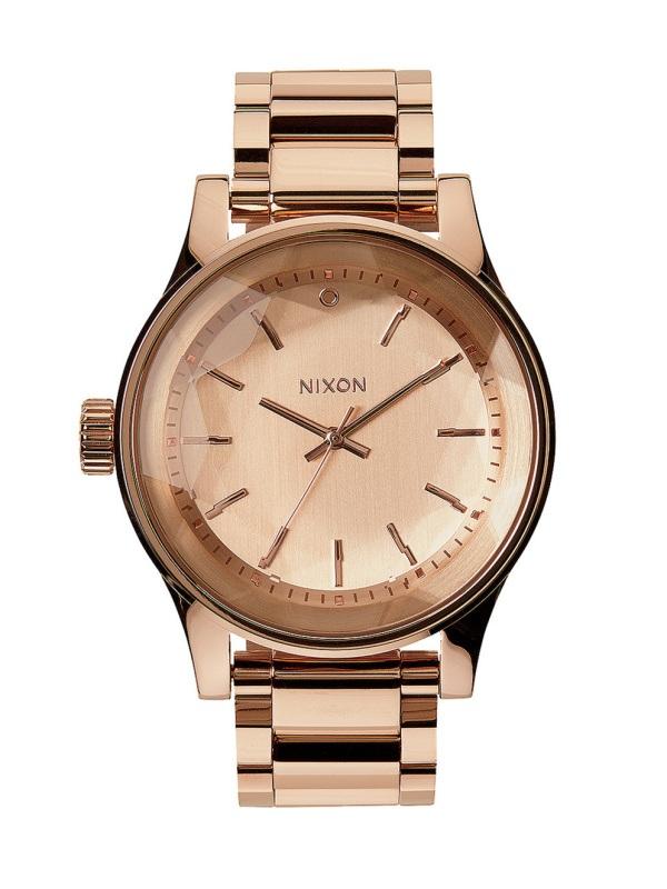 3d954e41509 Nixon FACET ROSEGOLD dámske analógové hodinky   Swis-Shop.sk