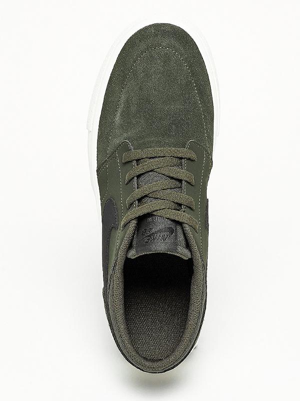 ba2444d6f8e2b Nike SB Portmore II (GS) SEQUOIA/BLK/WHT detské topánky / Swis-Shop.sk