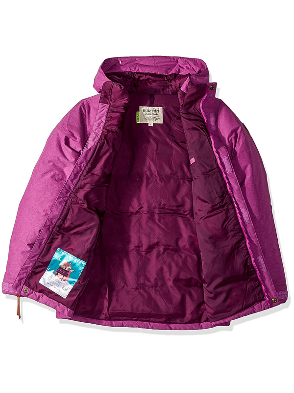 fa23e1a13 Burton GIRLS TRAVERSE GRAPESEED zimná detská bunda / Swis-Shop.sk