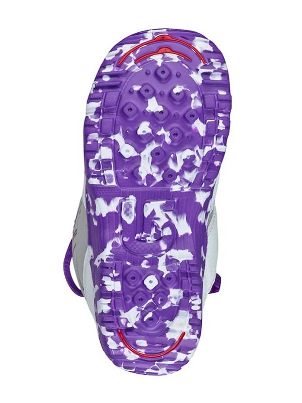 Burton GROM BOA WHITE PURPLE detské topánky na snowboard   Swis-Shop.sk 54576dc3fae