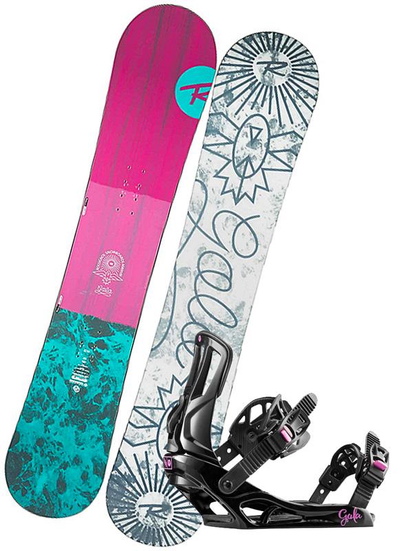 ed0af2c41 Rossignol Gala+Gala dámsky snowboard set / Swis-Shop.sk