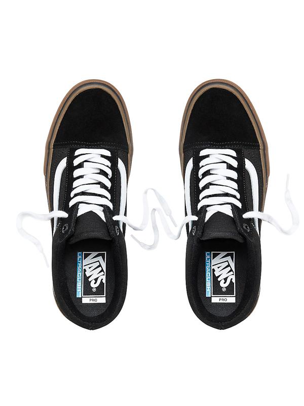 Vans OLD SKOOL PRO BLACK WHITE MEDIUM GUM pánske topánky   Swis-Shop.sk 0e844416cbe