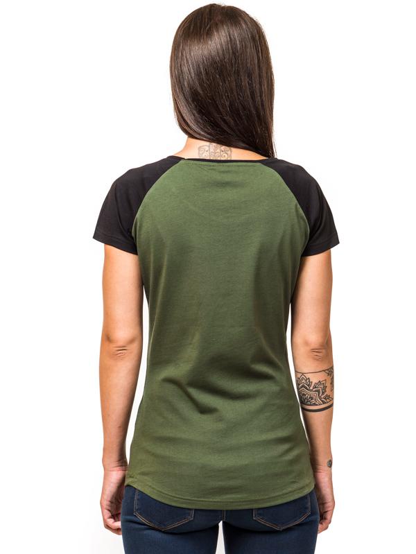 30de0223b614 Horsefeathers RIDE olive dámske tričko s krátkym rukávom   Swis-Shop.sk
