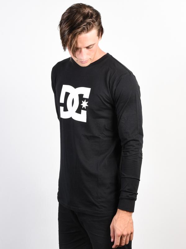 Dc STAR black pánske tričko s dlhým rukávom   Swis-Shop.sk a89239616b