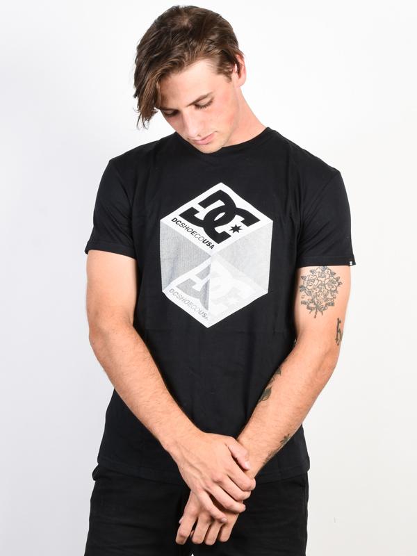 6377d3807646 Dc VOLUME black pánske tričko s krátkym rukávom   Swis-Shop.sk