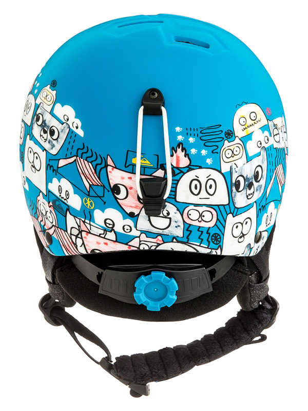 Quiksilver EMPIRE DAPHNE BLUE ANIMAL PARTY detská prilba na snowboard    Swis-Shop.sk 833d7b85387