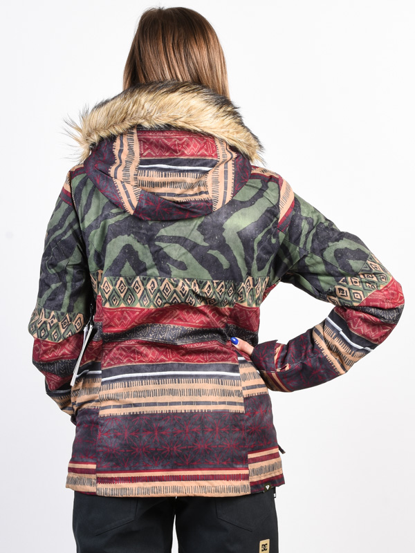 c03fdc9b5fe8 Roxy JET SKI SE TRUE BLACK WILD ETHNIC zimná dámska bunda   Swis-Shop.sk