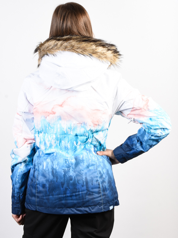 eea445489504 Roxy JET SKI SE BRIGHT WHITE SNOWYVALE zimná dámska bunda   Swis-Shop.sk