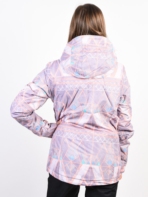 Roxy JETTY MINIMAL GREY MOSAIC zimná dámska bunda   Swis-Shop.sk c711e400240