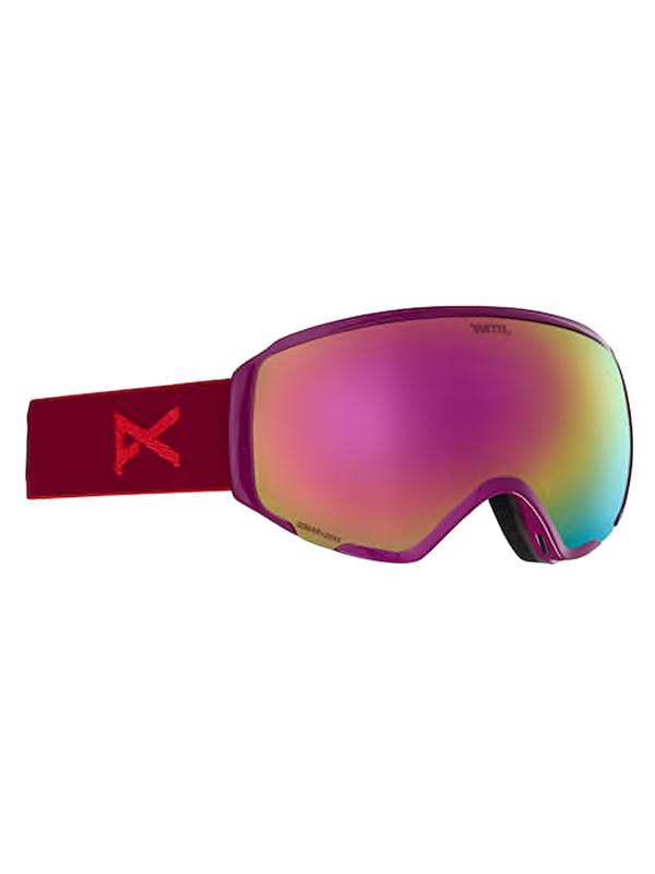 44a1e6a3e1b Anon WM1 MFI W SPR MAGENTA SONAR PINK dámske okuliare na snowboard   Swis- Shop.sk