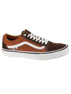 c2c97d72ef6 Vans OLD SKOOL PRO potting soil leather brown pánske topánky   Swis ...