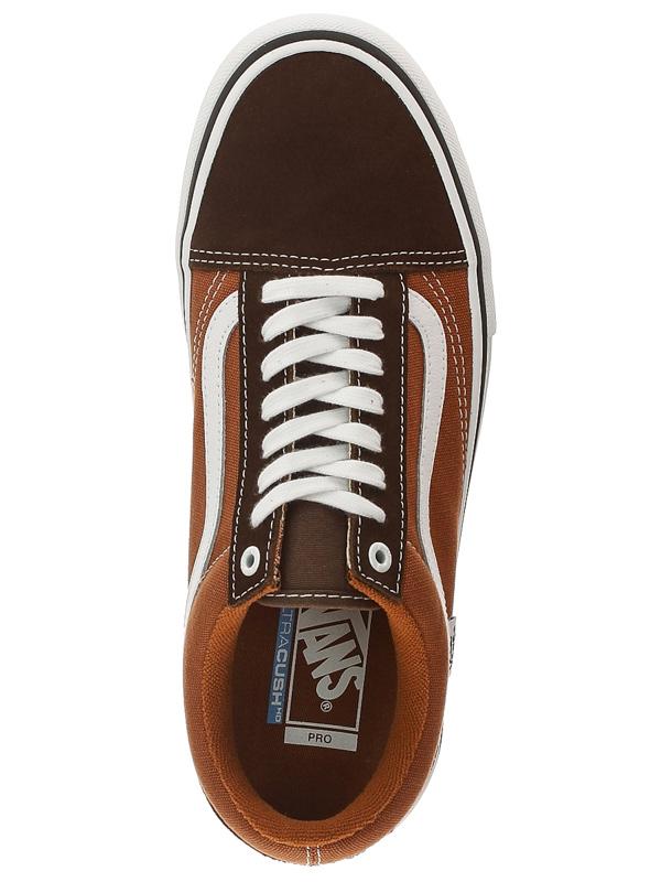 60e97d9df3e Vans OLD SKOOL PRO potting soil leather brown pánske topánky   Swis-Shop.sk