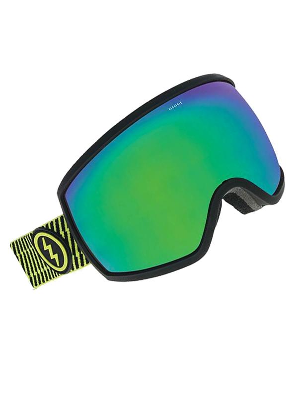 2705f6d7a Electric EGG VOLT STRIPE BROSE/GREEN CHROME dámske okuliare na snowboard /  Swis-Shop.sk