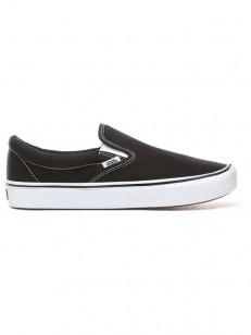 eadd5b60450b4 Vans ComfyCush Slip-On (CLASSIC) BLACK/TRUE WHIT