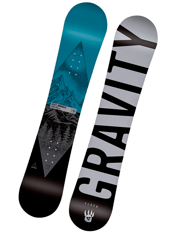 Gravity FLASH MINI detský snowboard - 120